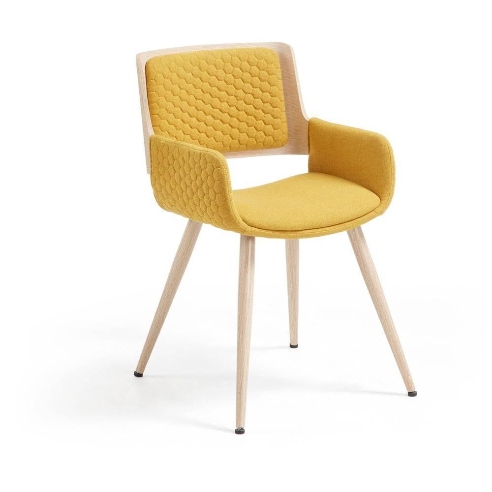 Horčicovožltá stolička La F...